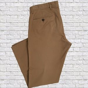GAP SLIM STRETCH PANTS in creamy brown